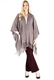 M&S Collection Cashmilon Tassel Trim Knitted Wrap [T01-8650-S]