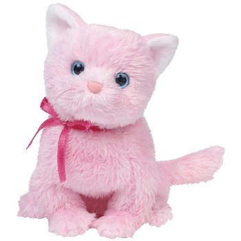 1 X Ty Beanie Babies - Fleur the Pink Cat - 1