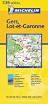 Gers/Lot-et-Garonne (Michelin Local Maps)