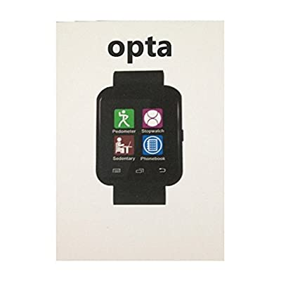 OPTA SW-004 White Bluetooth Smart Watch Phone Touch Screen Multilanguage Android/IOS Mobile Phone Wrist Watch...