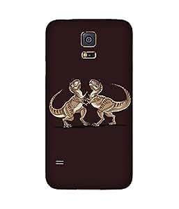 Fighting Dinosaurs Samsung Galaxy S5 Case
