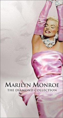Cover art for  Marilyn Monroe - The Diamond Collection (Bus Stop / How to Marry a Millionaire / There&#039;s No Business Like Show Business / Gentlemen Prefer Blondes / The Seven Year Itch / The Final Days) [VHS]