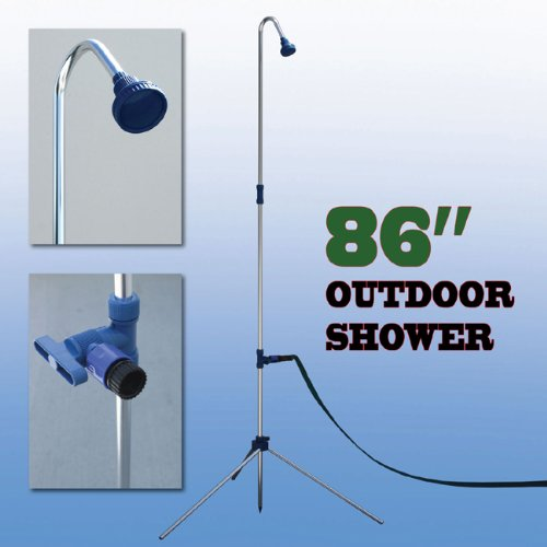 Outdoor Shower Portable Pool Spa Camping Garden Patio