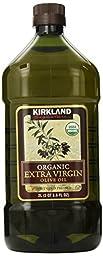 Kirkland Signature Organic Extra Virgin Olive Oil 2L (2QT 3.6 fl. oz)