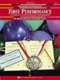 img - for Standard of Excellence First Performance, Eb Baritone Saxophone (13 Piece in a variety of styles for beginning band) book / textbook / text book