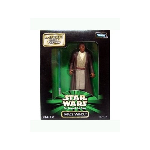 Sneak Preview Mace Windu Star Wars: The Power of the Force Episode I Mail Away 4 inch Action Figure