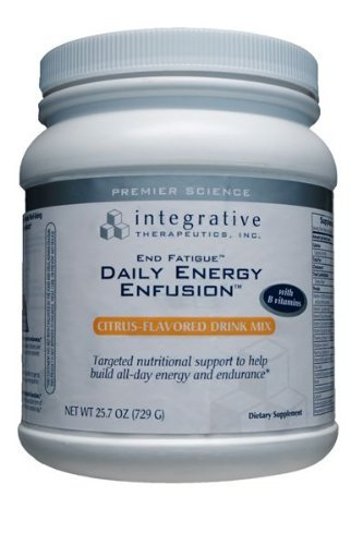 Integrative Therapeutics - End Fatigue Daily Energy Enfusion Citrus Flavor (21.6 Oz) (End11)