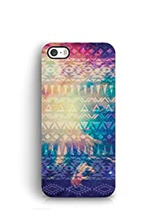 Cover Affair Aztec Printed Back Cover Case for Apple iPhone 5S
