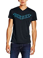 Diesel Camiseta Manga Corta T-Kritil (Negro)