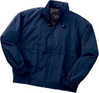 Port Authority - Classic Poplin Jacket. J753 - X-Small - Dark Navy / Dark Navy