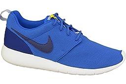 Nike Kids Roshe One (GS) Hyper Cblt/Deep Royal Blue/Vrsty Mz/B Running Shoe 4 Kids US