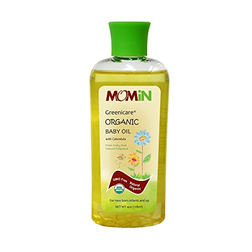 MOMiN Greenicare Organic Baby Oil with Calendula