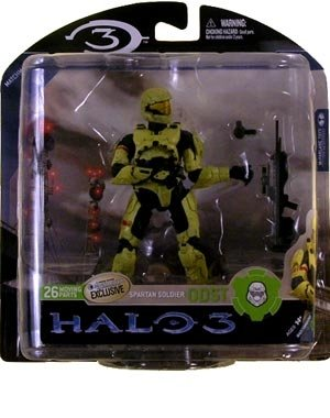 Action Figur HALO 3 Spartan Soldier ODST lim. Exclusive Figur
