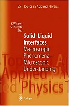 solid-liquid interfaces - klaus wandelt and stephen thurgate