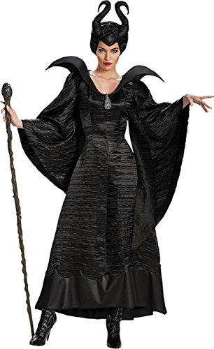 Morris Costumes Women's MALEFICENT CHRISTENING BK AD, Black, 4-6