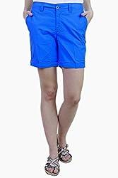Caribbean Joe Womens Mid Ocean Basic Shorts