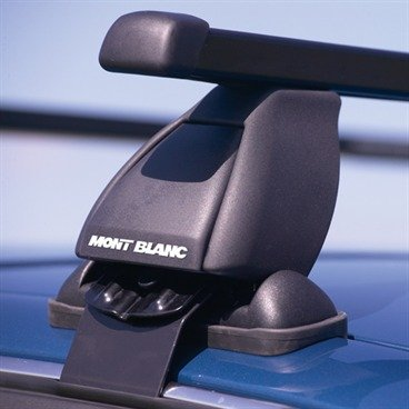 Mont Blanc CBC1/CFK02 Gutterless Vehicle Roof Rail Bars - Audi A4 S4 (B6) 4 door saloon 2001 to 2008