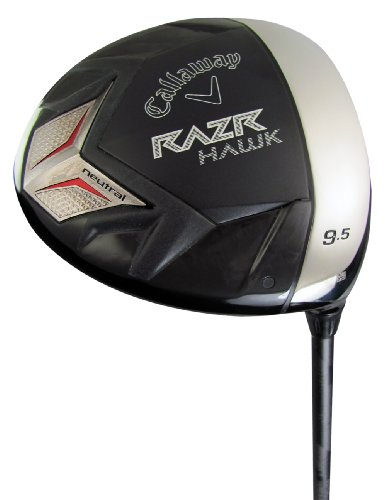 Callaway Men's RAZR Hawk Driver - Neutral Bias (Right-Handed, 9.5 Degree Loft, Adila RIP Graphite, Stiff Shaft)