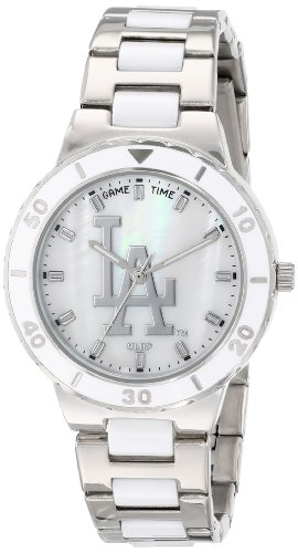 "Game Time Women'S Mlb-Pea-La ""Pearl"" Watch - Los Angeles Dodgers"