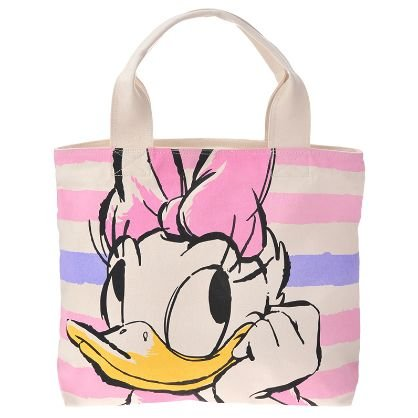【Disney Store】ディズニーストア キャンバストートバッグ MARINE デイジー
