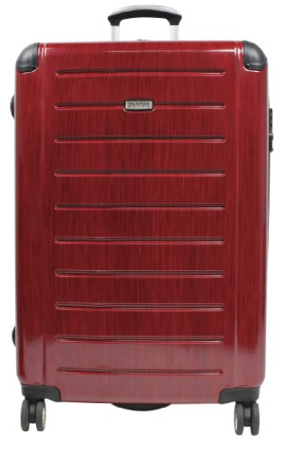 Ricardo Beverly Hills Luggage Roxbury 29-Inch Expandable Freewheel Upright, Brushed Black Cherry, Large best offers