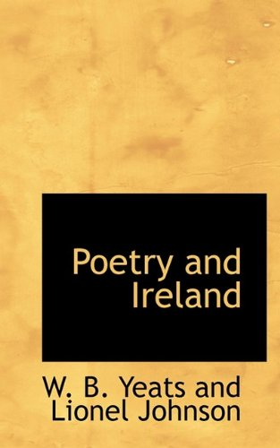 Poetry and Ireland