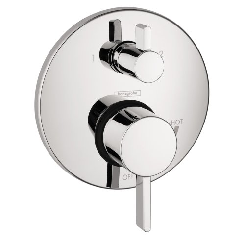 Hansgrohe 4447000 S Trim Pressure Balance with Diverter, Chrome (Hansgrohe Shower compare prices)