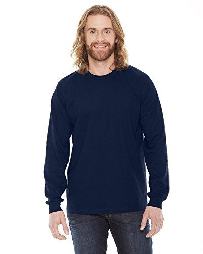 american-apparel-maglia-a-manica-lunga-abbigliamento-uomo-blu-navy-small