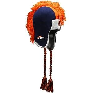 NFL Denver Broncos RZ Tassel Knit Cap, Orange, Toddler by NFL Brand