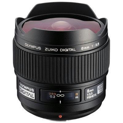 Best Seller Olympus 8mm f/3.5 Zuiko Fisheye Lens for Olympus Digital