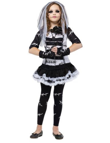 Monster Bride Kids Costume 8-10 Kids Girls Costume