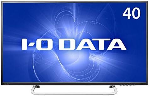 I-O DATA 40型ワイド液晶ディスプレイ (HDMI端子4K/60Hz・HDCP2.2、DisplayPort搭載、リモコン付き、5年フル保証) LCD-M4K401XVB