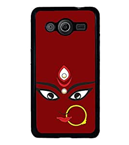 Maa Kali 2D Hard Polycarbonate Designer Back Case Cover for Samsung Galaxy Core 2 G355H :: Samsung Galaxy Core II :: Samsung Galaxy Core 2 Dual