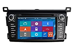 See Crusade Car DVD Player for Toyota Rav4 2013- Support 3g,1080p,iphone 6s/5s,external Mic,usb/sd/gps/fm/am Radio 7 Inch Hd Touch Screen Stereo Navigation System+ Reverse Car Rear Camara + Free Map Details