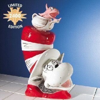 Limited Edition Cat in a Hat Cookie Jar