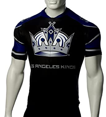 NHL Los Angeles Kings Mens Cycling Jersey by VOmax