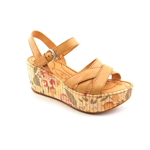 Straw Wedge Sandals