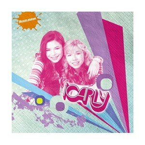 iCarly Beverage Napkins (16) [Toy]