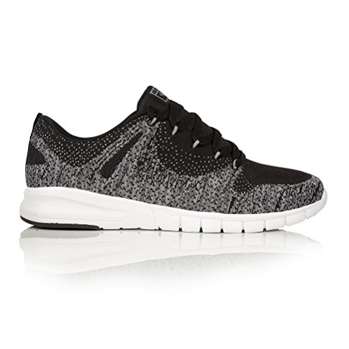 Gola Mens Tarum Breathable Seamless Trainers/Sneakers (13 US) (Black/White)
