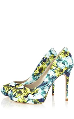 Placed Iris Print Pump