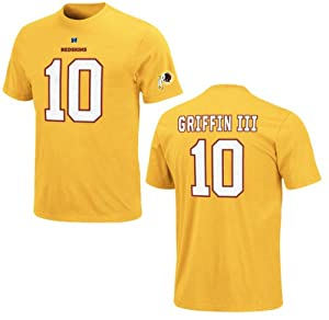 Washington Redskins Robert Griffin III Yellow Gold Eligible Receiver Name and Number... by VF