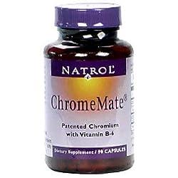 Natrol Chromemate 90 Caps