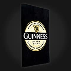 Guinness Label Beach Towel
