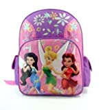 Disneys Fairies BackPack Full Size - Tinkerbell School Bag Large