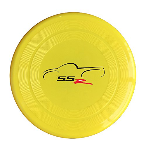 EVALY Cool Famous Car SS R 150 Gram Ultimate Sport Disc Frisbee Yellow (Yellow Ss Emblems compare prices)