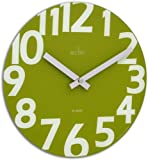 Acctim 27405 Carib Wall Clock, Lime Green