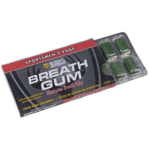 Scent Shield Men's Deodorant Gum (Black, 12-Count)