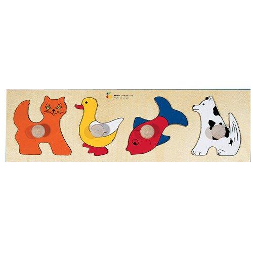 Cheap Constructive Playthings Knob Animal Puzzle (B001CG9LQU)