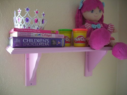 Girls Pink Bedroom Shelf, Shelves, Storage, Toy storage, Childrens Bedroom Furniture.