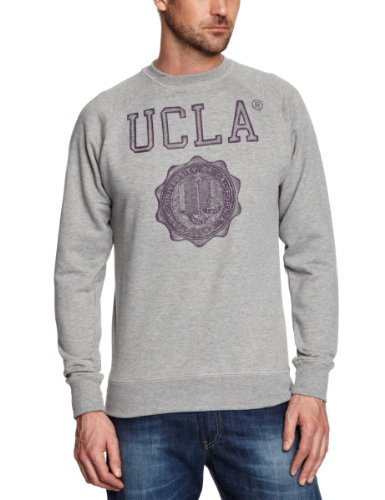 UCLA Pate Men's Sweatshirt Grey Marl Medium
